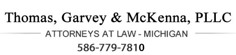 Macomb County Personal Injury Attorney in St. Clair Shores, Michigan Logo
